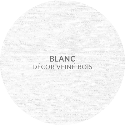 3. Blanc decor veine bois