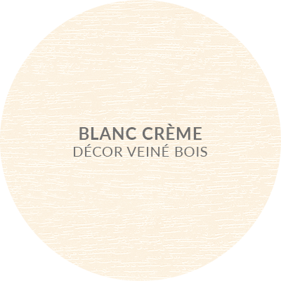 4. Blanc creme decor veine bois